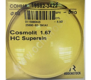 Cosmolit 1.67 HC Supersin