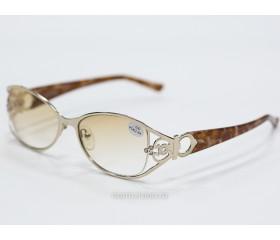 Очки  тонированные с диоптриями art - 0028