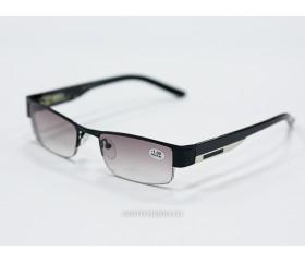 Очки  тонированные с диоптриями art - 0039