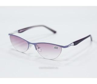 Очки  тонированные с диоптриями art - 0044
