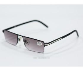 Очки  тонированные с диоптриями art - 8144