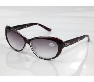Очки тонированные женские с диоптриями В564