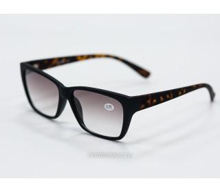 Очки тонированные с диоптриями
