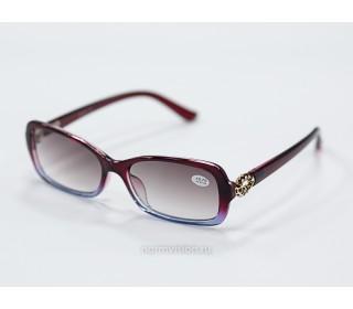 Очки тонированные с диоптриями art - 9964