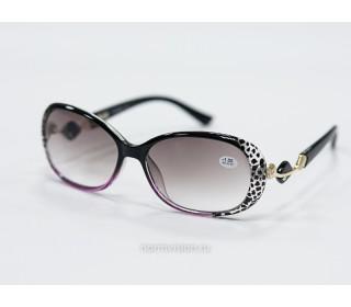 Очки тонированные с диоптриями art - 9981