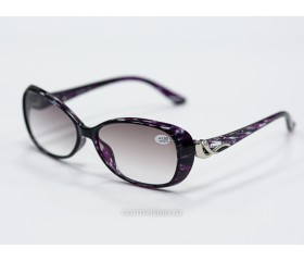 Очки  тонированные с диоптриями art - 0001